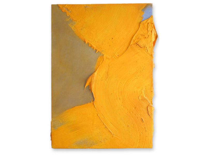in corpore 1 - émulsion acrylique & huile/toile - 180/126 cm