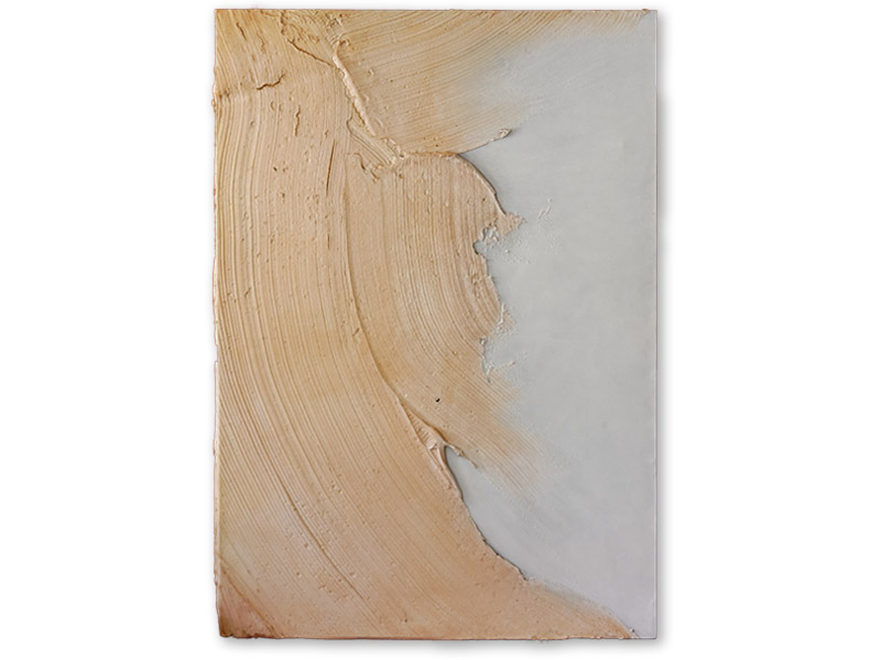in corpore 2 - émulsion acrylique & huile/toile - 180/126 cm