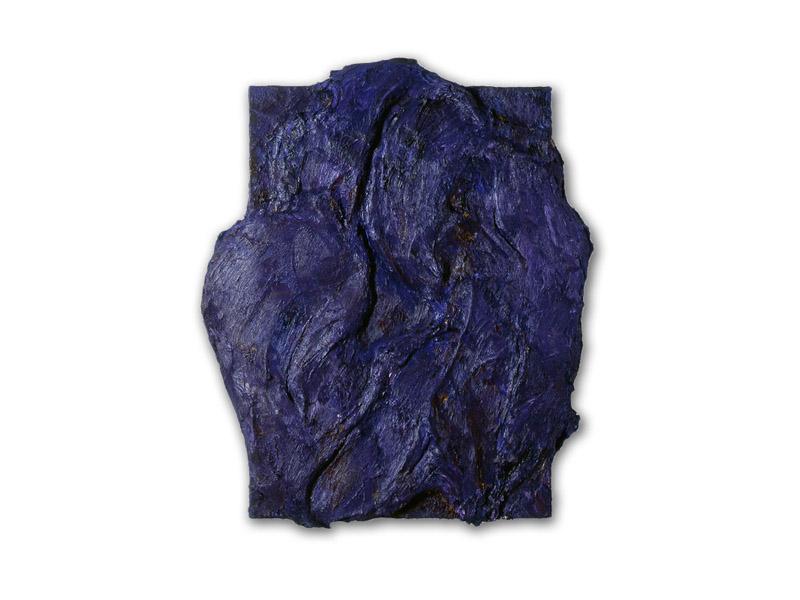 débord 4 - acrylique & huile/toile - 110/92 cm