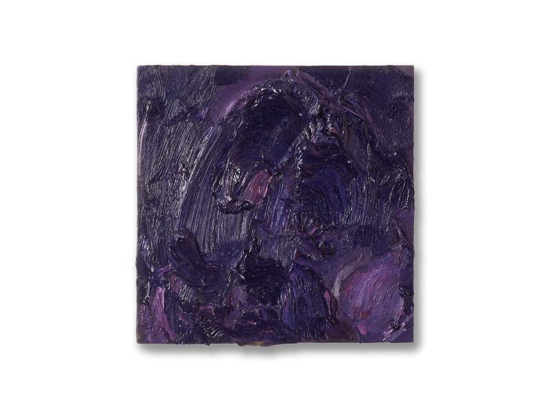 carré 2 - huile/bois - 25/25 cm