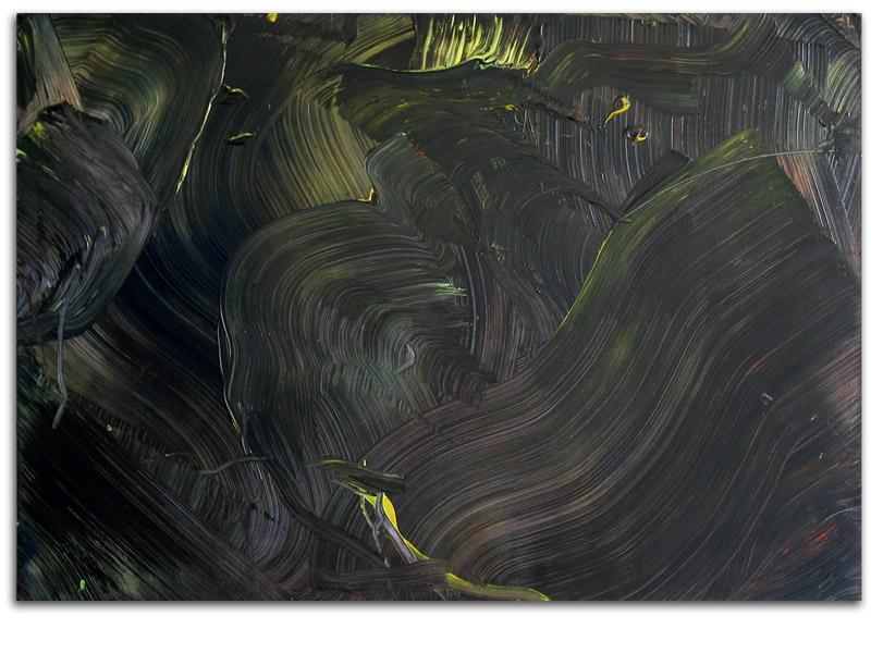 sans titre 1 - acrylique/toile - 126/180 cm