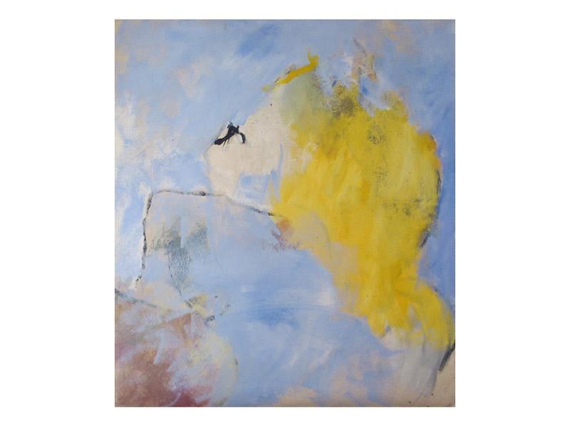 sans titre 1 - acrylique,encre & mine de plomb/toile libre - env. 160/140cm