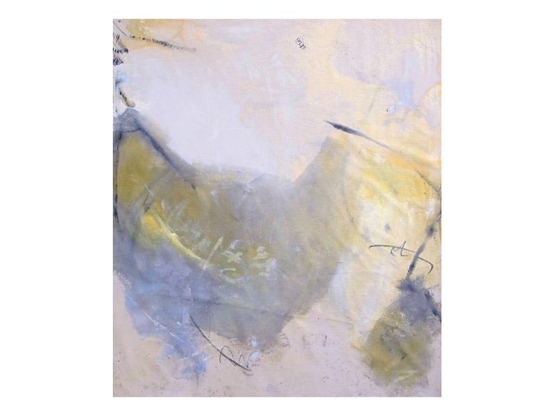 sans titre 6 - acrylique,encre & mine de plomb/toile libre - env. 160/140cm