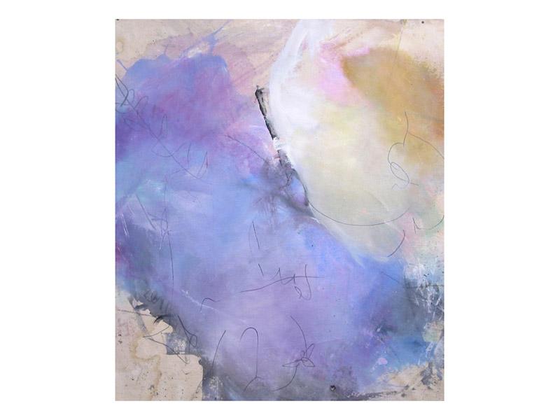 sans titre 8 - acrylique,encre & mine de plomb/toile libre - env. 160/140cm
