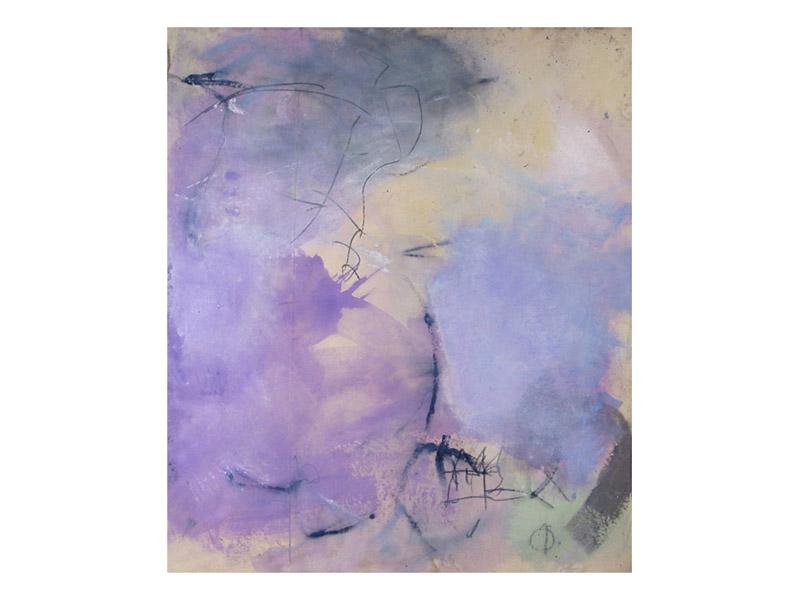 sans titre 9 - acrylique,encre & mine de plomb/toile libre - env. 160/140cm