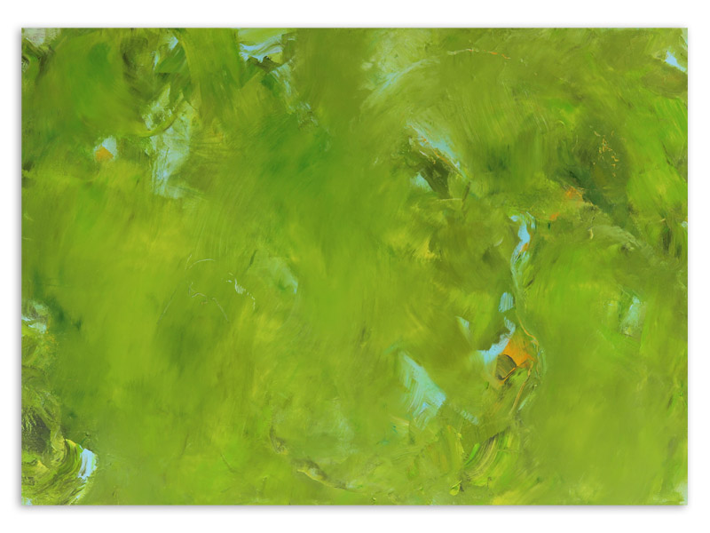 chloros 5 - acrylique/toile - 100/140 cm