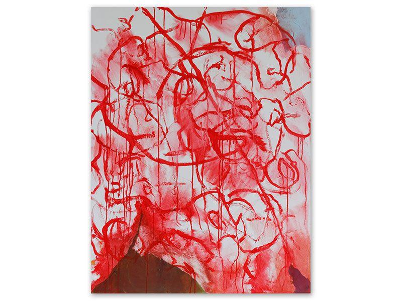 prémices 1 - acrylique/toile - 116/89 cm